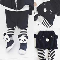 Baby Children Korean Pants Boys And Girls Bear Two Ears False Baby Pants Spring Section Kids