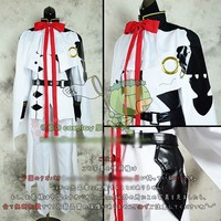 Game Anime Movie Ferid.Bathory Cosplay Costume Cape+Coat+Pant+Gloves+Shoes Cover Custom made