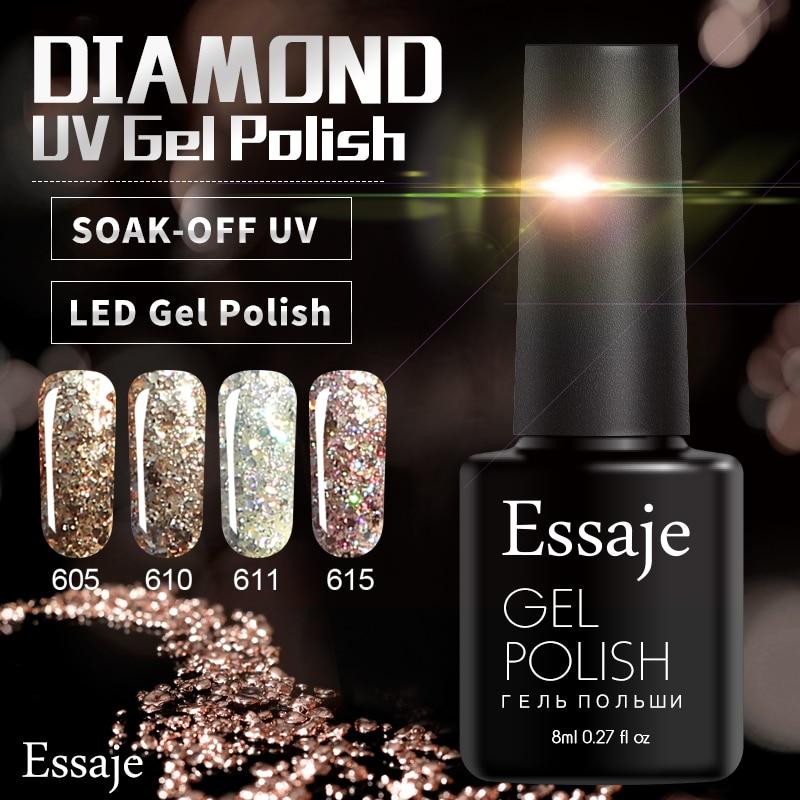 Lucky Nail Supply: Aliexpress.com : Buy Essaje Lucky Led Nail Gel Polish Soak