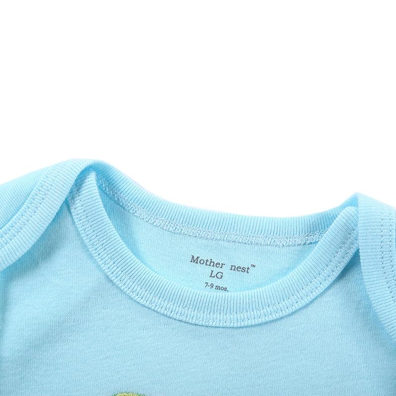 Mono del bebé 0-12 meses de manga corta bebé infantil de dibujos - Ropa de bebé - foto 3