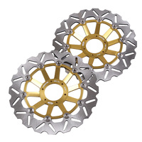 Front Brake Disc Disk Rotors For Honda CB 400 FOUR/SB/SUPER BOL D'OR/SUPER FOUR/SF & CB 600 HORNET Pair Motorcycle Accessories