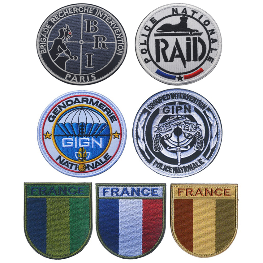 GlGN Gendarmerie Nationale French Police Special Forces Patches FRANKREICH France SWAT GIPN RAID POLIZEI BRI Patch badge ...