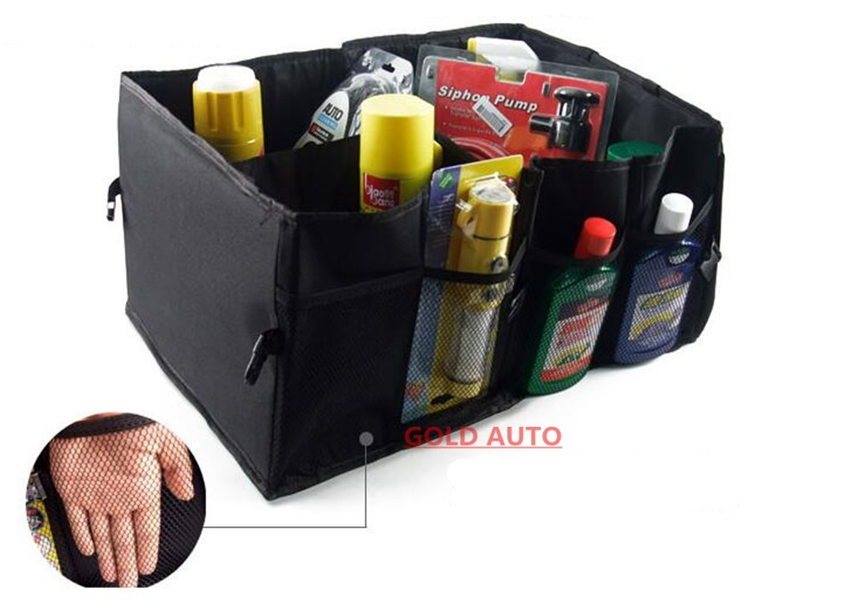 Car Storage Box Car Trunk Folding Storage Bag Car Glove Box Car Article Storage Car Kits Practical And Durable Multifunction 8