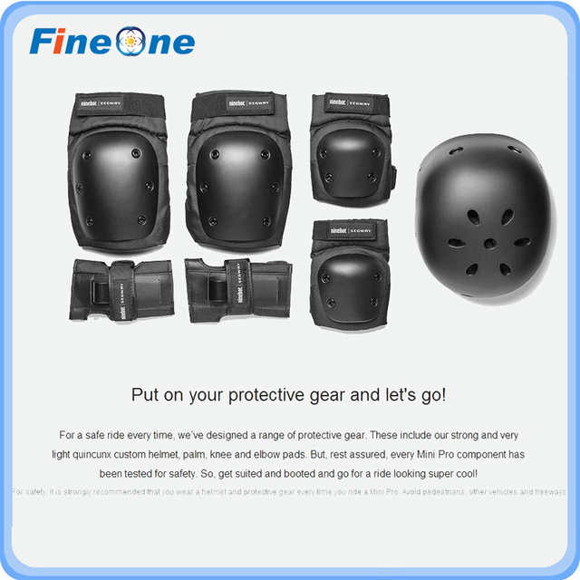 Electric Scooter Helmet Elbow Knee Protection Kit