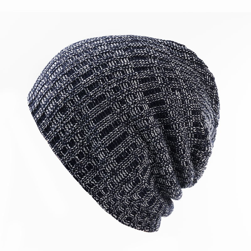 Casual Hip Hop Beanies Hat Men Male Women Knitted Toucas Bonnet Winter Hats For Men Women Crochet  Cap Warm Skullies Gorros winter casual cotton knit hats for women men baggy beanie hat crochet slouchy oversized ski cap warm skullies toucas gorros 448e