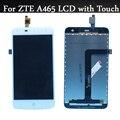 Boa qualidade para zte a465 display lcd com tela de toque digitador assembléia peças de reposição frete grátis