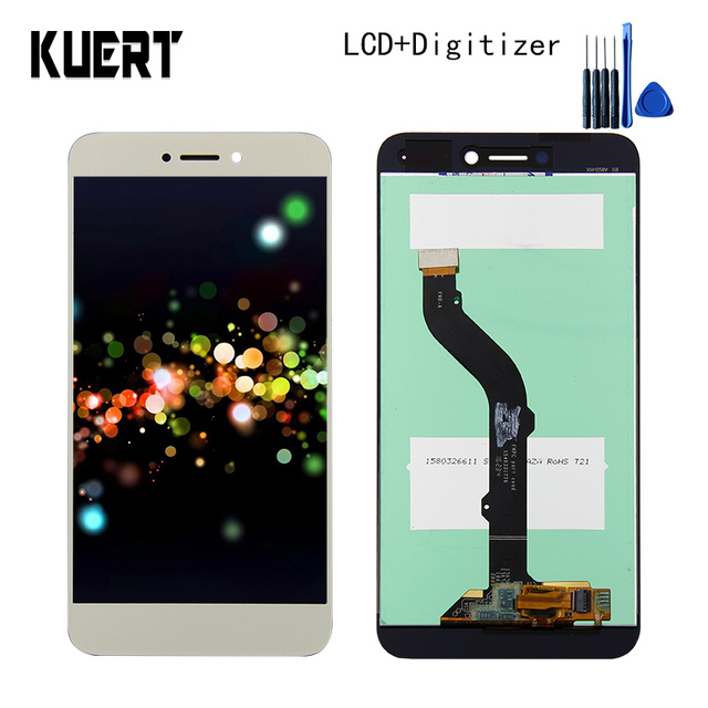 High Quality Touch Screen Digitizer LCD Display Assembly For Huawei P9 lite PRA-LX3 PRA-LX1 Repair Part  Free shipping