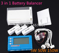 1pcs 3 in 1 Battery Balancer LCD, Voltage Indicator, Battery Discharger  150W for choose AOK