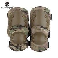 Emerson Защитные Налокотники наколенники набор военный airsoft защиты шестерни multicam лесной оливковый коричневый черный