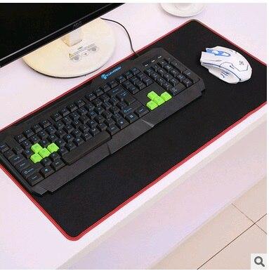 גדול משטח העכבר אדום / כחול / שחור - ציוד היקפי למחשב