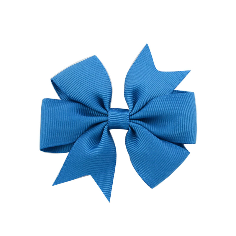 1 шт цвета сплошная корсажная лента банты заколки шпилька девушка бант для волос, бутик заколка для волос Головные уборы Детские аксессуары для волос 564 - Цвет: 6