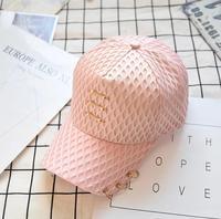 新しい卸売野球帽女