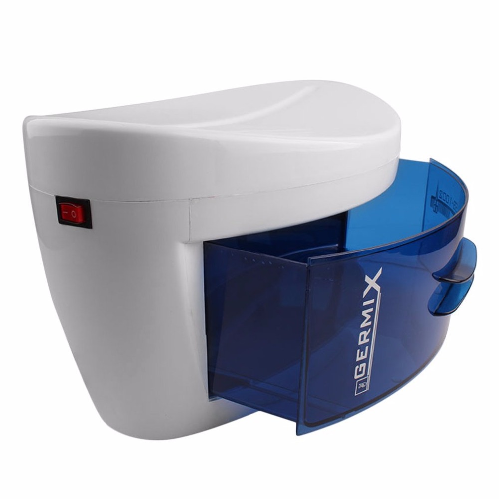 8W Ultraviolet UV Sterilizer Disinfection Cabinet Towel Tattoo Nail Makeup Brush Bactericidal Sterilizer Cabinet Equipment Hot