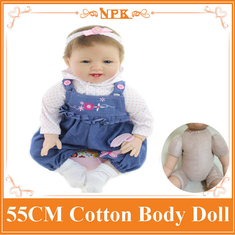 2017 New 22 inch Silicone reborn bebe baby doll for sale, Girls brinquedos Play House Baby Reborn Vinily Princess Doll Toys 6 4 4m bounce house combo pool and slide used commercial bounce houses for sale