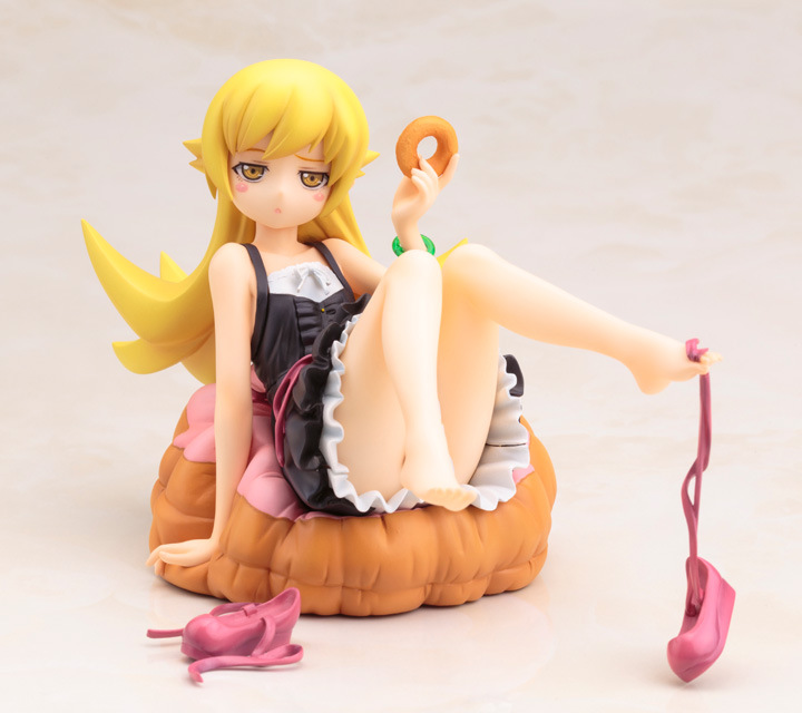 13cm Monogatari Nisemonogatari Oshino Shinobu Action Figure PVC Collection Model toys brinquedos for christmas gift anime cartoon monogatari nisemonogatari