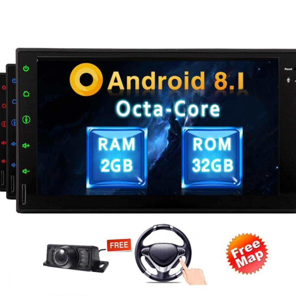 Video No Dvd Player Bluetooth Handsfree Support 1080p Screen Mirroring Wifi Obd2 3g 4g Android 8 1 Car Stereo No Dvd Multimedia Aliexpress