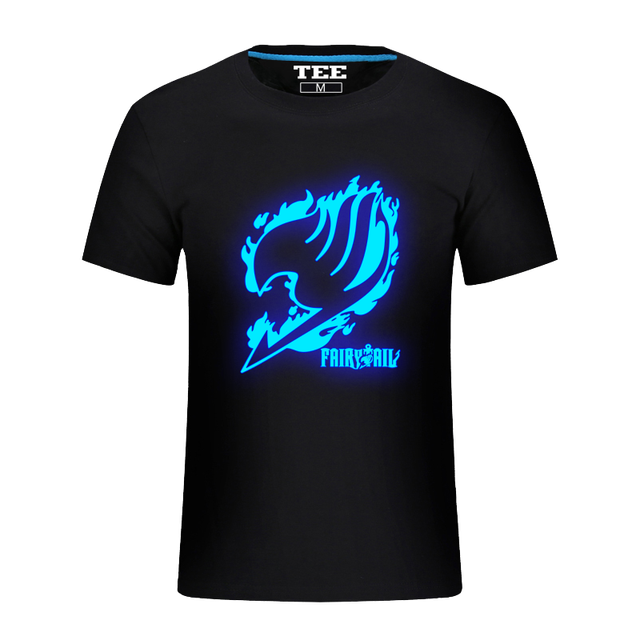 Fairytail T Shirts Japanese Famous Anime Fairy Tail T-shirt Japanese tshirts