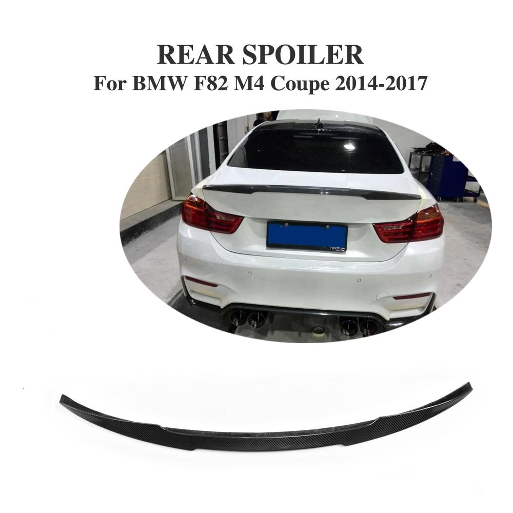 Aileron de coffre arrière en Fiber de carbone pour BMW nouvelle série 4 M4 coupé 2 portes 2014-2017