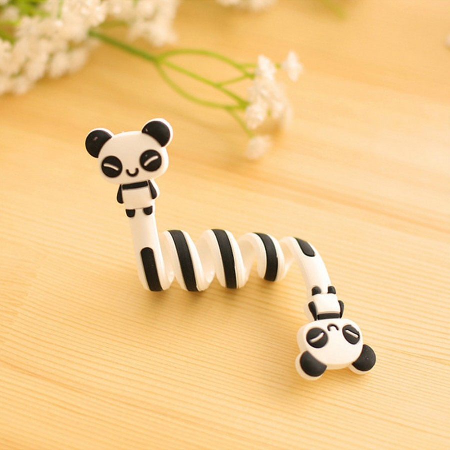 CUSHAWFAMILY милые Мультяшные животные моталки ушной механизм для хранения линии концентратора многофункциональные кабели для получения сумки клип - Цвет: Style 4