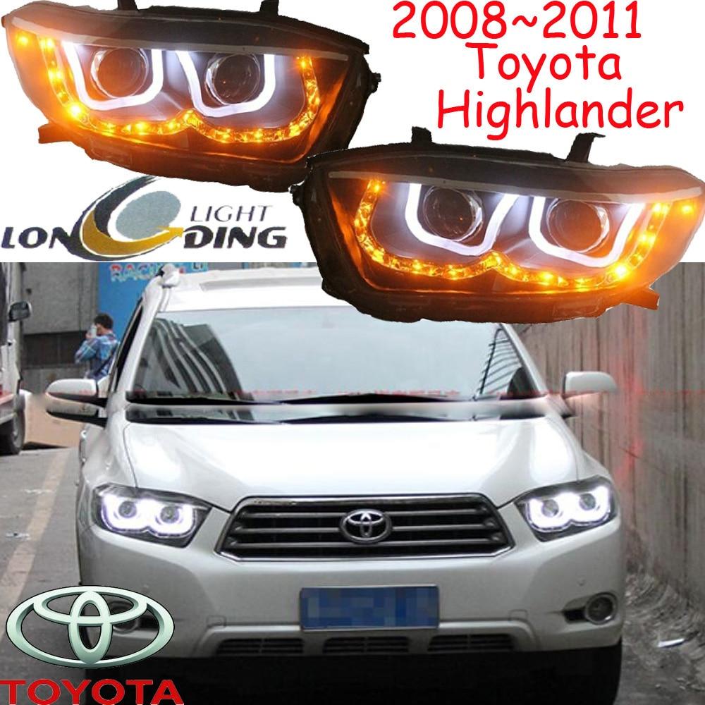 Фары хайлендер,2008~2011,бесплатные корабль! Горец противотуманные фары,РАВ4,Королла,Хайлендер светлая,высокий ландер
