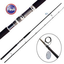 Fuji Reel Seat 2.7m Korea Sea Guide 24kg Jigging Rod Boat Fishing Rod Ocean Popping Rod
