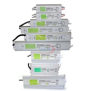 цена на Waterproof IP67 LED Driver Ac dc 12V/24V 10W 15W 20W 25W 30W 36W 45W 50W 60W 80W 100W 120W 150W Power Supply for LED strip Light