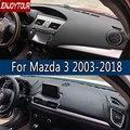 Für Mazda3 Mazda 3 Axela 2003 2018 Leder Dashmat Dashboard Abdeckung Verhindern Sonnenlicht Pad Dash Matte 2007 2008 2009 2013 2014 2016 auf