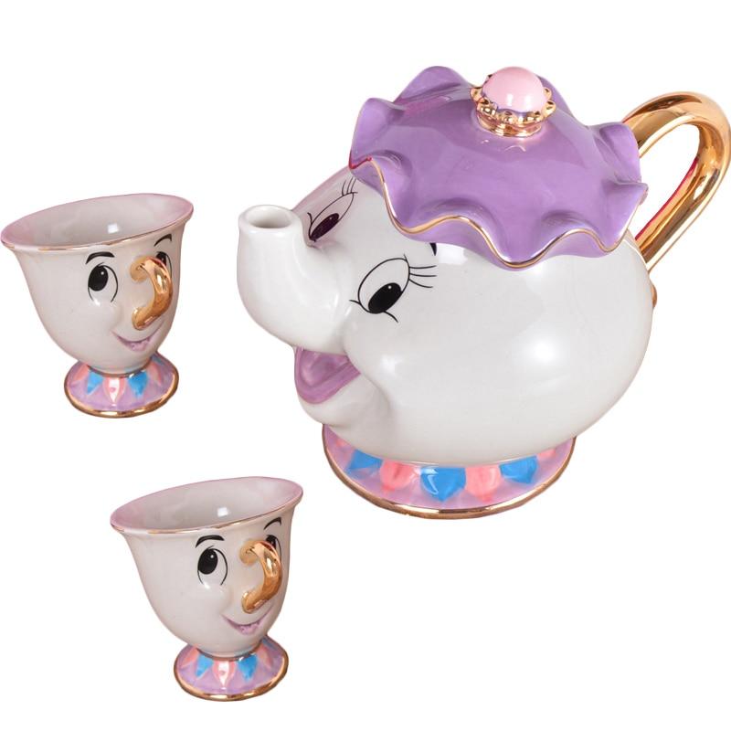 მულტფილმი Beauty and The Beast Tea Mug - სამზარეულო, სასადილო და ბარი - ფოტო 2