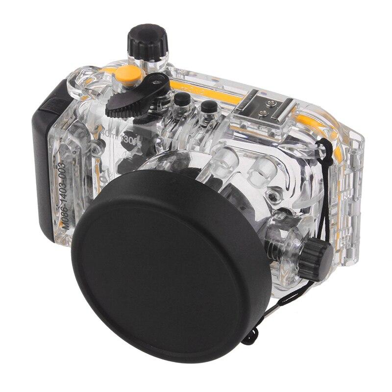 Meikon 40M Waterproof Underwater Camera Housing Case Bag for Canon S110 WP-DC47 Waterproof Underwater Housing Case for Camera nereus 10 meter waterproof housing kit for digital camera dc wp20