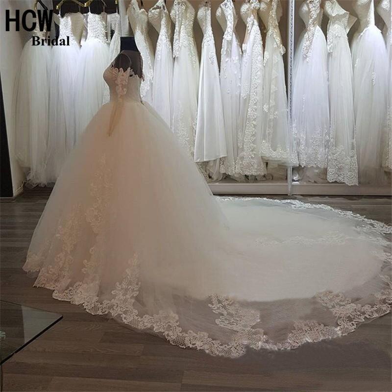 Платье свадебное пушистое