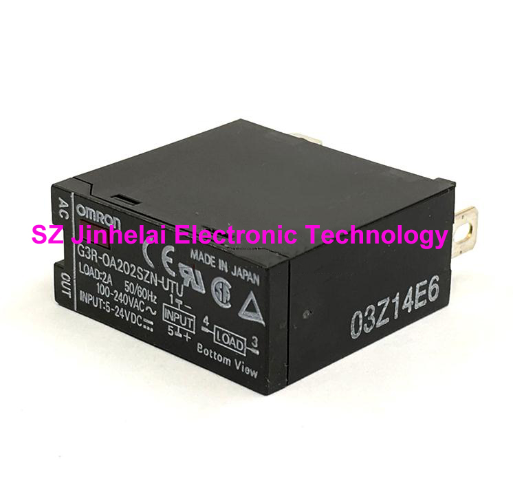 Authentic original G3R-OA202SZN-UTU OMRON Solid state relay G3R-0A202SZN-UTU 5-24VDC