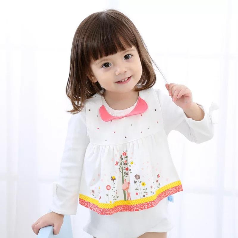 2019 Nieuwe Baby Meisje Slabbetjes Schorten Fancy Slabbetjes Bebe Wasbare Bib Baby Accessoires Pasgeboren Baby Peuter Voeden Waterdichte Baberos Makkelijk Te Gebruiken