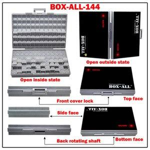 Image 4 - AideTek SMD storage SMT resistor capacitor Electronics Storage Cases & Organizers transparent toolbox storage box plastic BOXALL