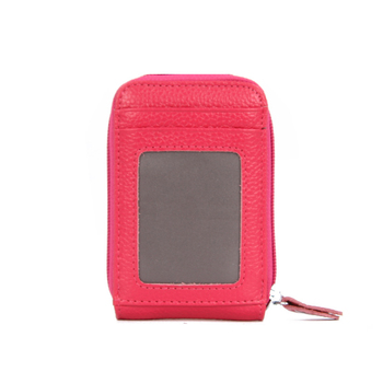 Women's Small Leather RFID Wallet Bags and Wallets Hot Promotions New Arrivals Women's Wallets Color: Rose Ships From: China