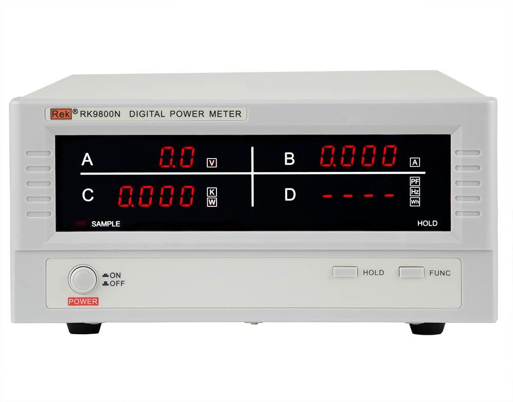 Rek RK9800N digital power measurement V, A, PF, W electric parameter meter RK9800N power meter холодильник pozis rk 139 w