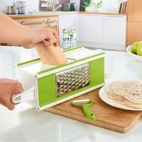 4 Sided Mandoline Slicer Manual Vegetable Cutter Stainless Steel Potato Carrot Onion Slicer Shredder Kitchen Accessories
