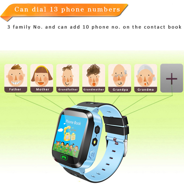 100% Original Q527 Child Baby Smart Watch Touch Screen With SOS Call Camera Lighting Phone Positioning Location Children Watch