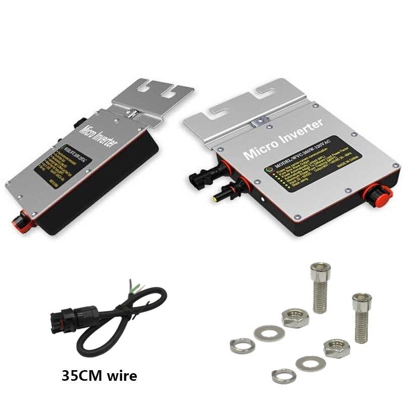 250 Вт Инвертор 250 Вт 240В Вольт солнечной энергии Инвертор Инвертор связи решетки чистая синусоида Инвертор с CE WV230 205-285VAC