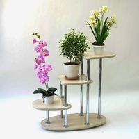 Home decor, multi level stand «Fifa» for flowers, plants, sculptures. Furniture for the living room, bedroom, kitchen. Garden