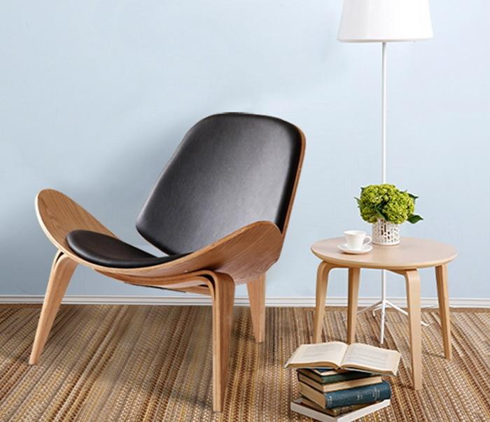 minimalistischen modernen design holz sessel wohnzimmer modernes ... - Wohnzimmer Design Holz