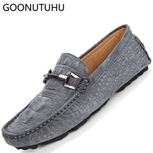 2019 new fashion men's shoes casual leather suede loafers male classics nice slip on shoe man comfortable driving shoes for men new fashion man handmade moccasin shoes cow suede leather round toe slip on loafers comfortable men s casual footwear js11