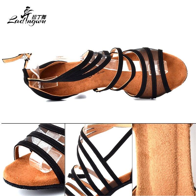 Ladingwu Flannel Black Shoes Әйелдер үшін Soft Bottom - Кроссовкалар - фото 4