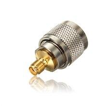1 шт. сплав сталь N Тип штекер для RP-SMA прямой разъем RF коаксиальный адаптер разъем