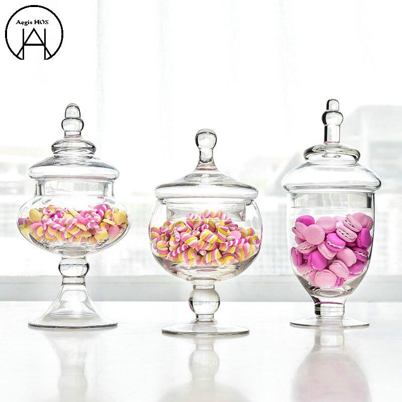 Assaisonnements pour Condiments banques de stockage bocal en verre bocal à bonbons bouteilles en verre bocaux Mason pot de stockage récipient en verre épices boîte de stockage