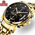 OLMECA Uhr Männer Mode Lässig Sport Uhren Relogio Masculino Chronograph Luminous Wasserdicht Geschäft uhren quarzuhr