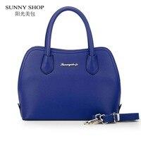 SUNNY SHOP Fashion Designer Women Shoulder Bags American Style Women Bag Candy Color High Quality Women