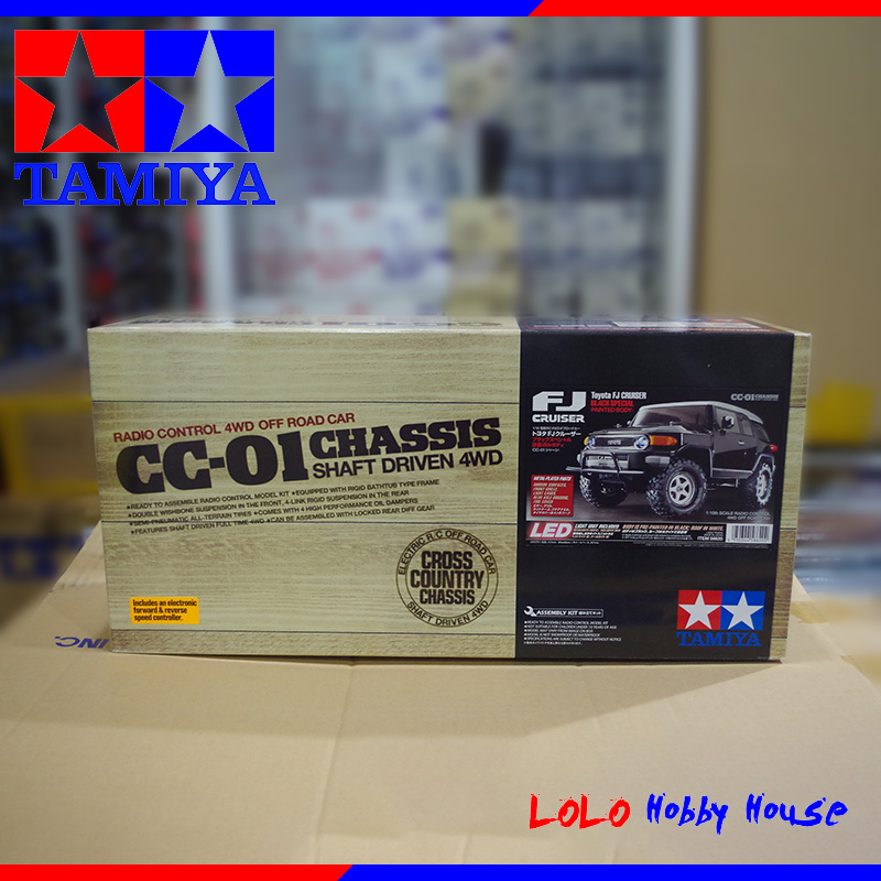 DIY TAMIYA 1/10 CC-01 RC Radio Control 4WD Off Road Car Chassis Shaft Driven 58620 driven to distraction