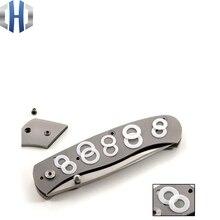 Nylon washers New DIY folding knives screwdriver blade pads tool accessories Detent Ball Bearings 10pcs