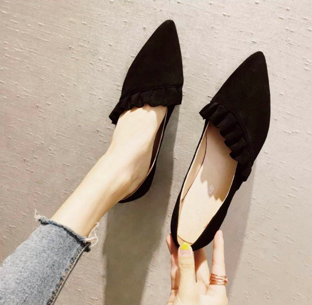d576f7da0 Women Flats Pointed Toe Ladies Shoes Autumn Sexy Female Shoes Shallow  Ballerina Flat Women Casual Shoes m474-in Women s Flats from Shoes on  Aliexpress.com ...