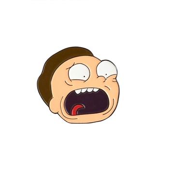 Rick and Morty Enamel Pins